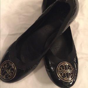 Tory Burch Caroline Flats Patent Leather 8.5